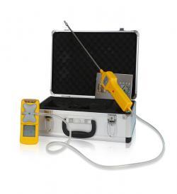 便携外置泵吸式气体检测报警仪